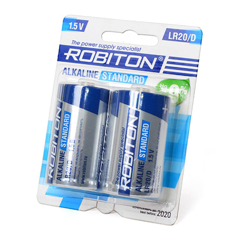 Купить Элемент питания robiton standard lr20 bl2 12286