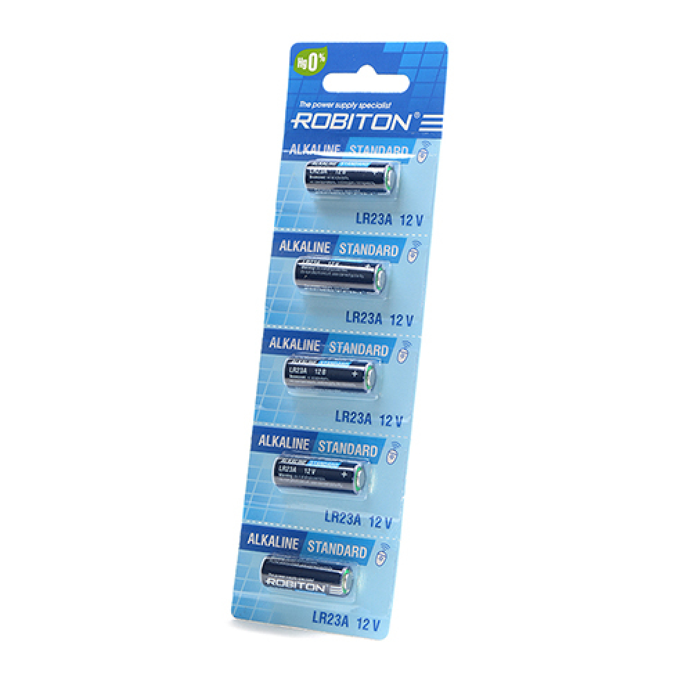 Купить Элемент питания robiton standard r-23a-0-bl5 23a /0% hg/ bl5 14081