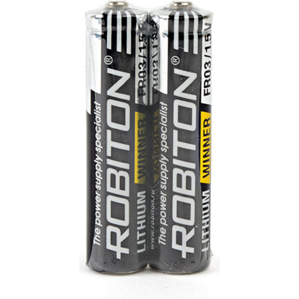 Элемент питания robiton winner r-fr03-sr2 fr03 sr2, в упаковке 2 шт 13687  - купить со скидкой