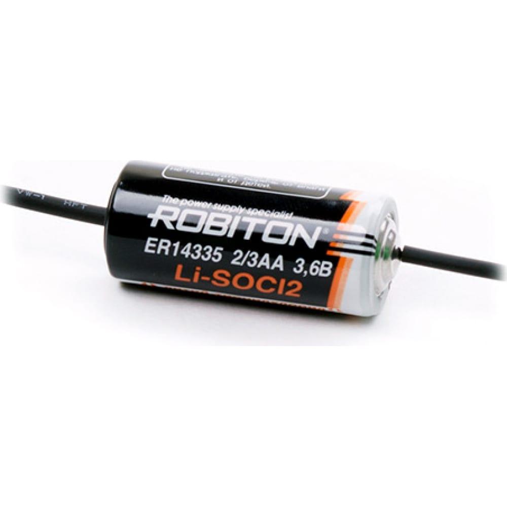 Купить Элемент питания robiton er14335-ax 2/3aa с аксиальными выводами ph1 11620
