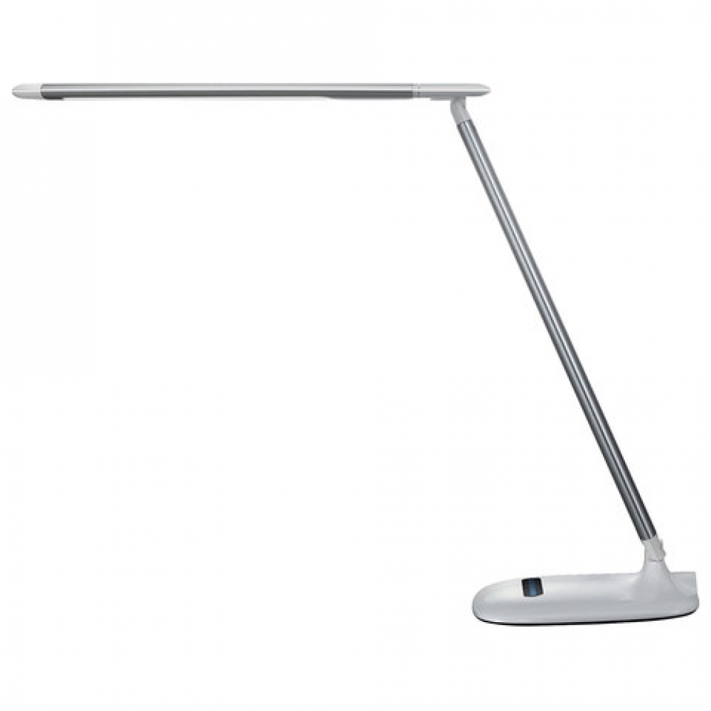 Купить Настольный светильник sonnen br-896, на подставке, светодиодный, 10 вт, алюминий, серебряный, 236663