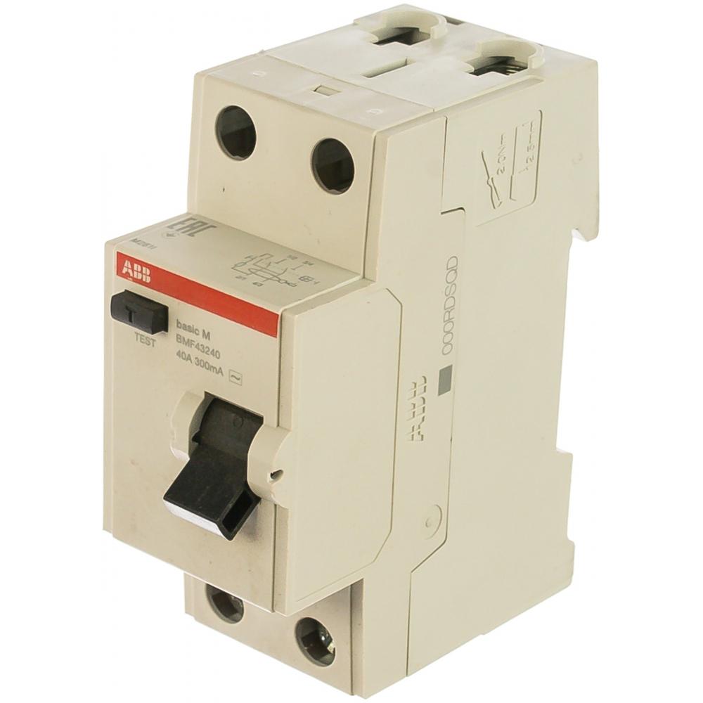 Купить Выключатель дифференциального тока abb 2p, 40a, 300мa, ac, bmf43240 2csf602043r3400