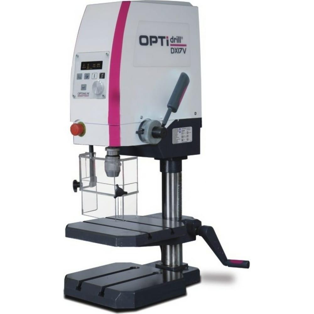 Прецизионный вертикально сверлильный станок optimum optidrill dx17v