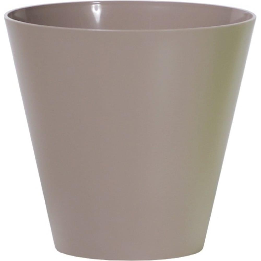 Купить Кашпо для цветов prosperplast tubus мокко 28.5л dtub400-7529u