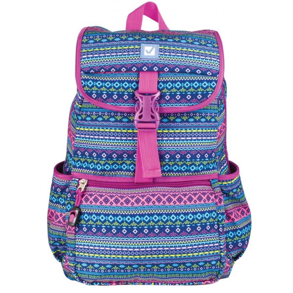 Рюкзак для старшеклассников/студентов/молодежи brauberg орнамент 226359