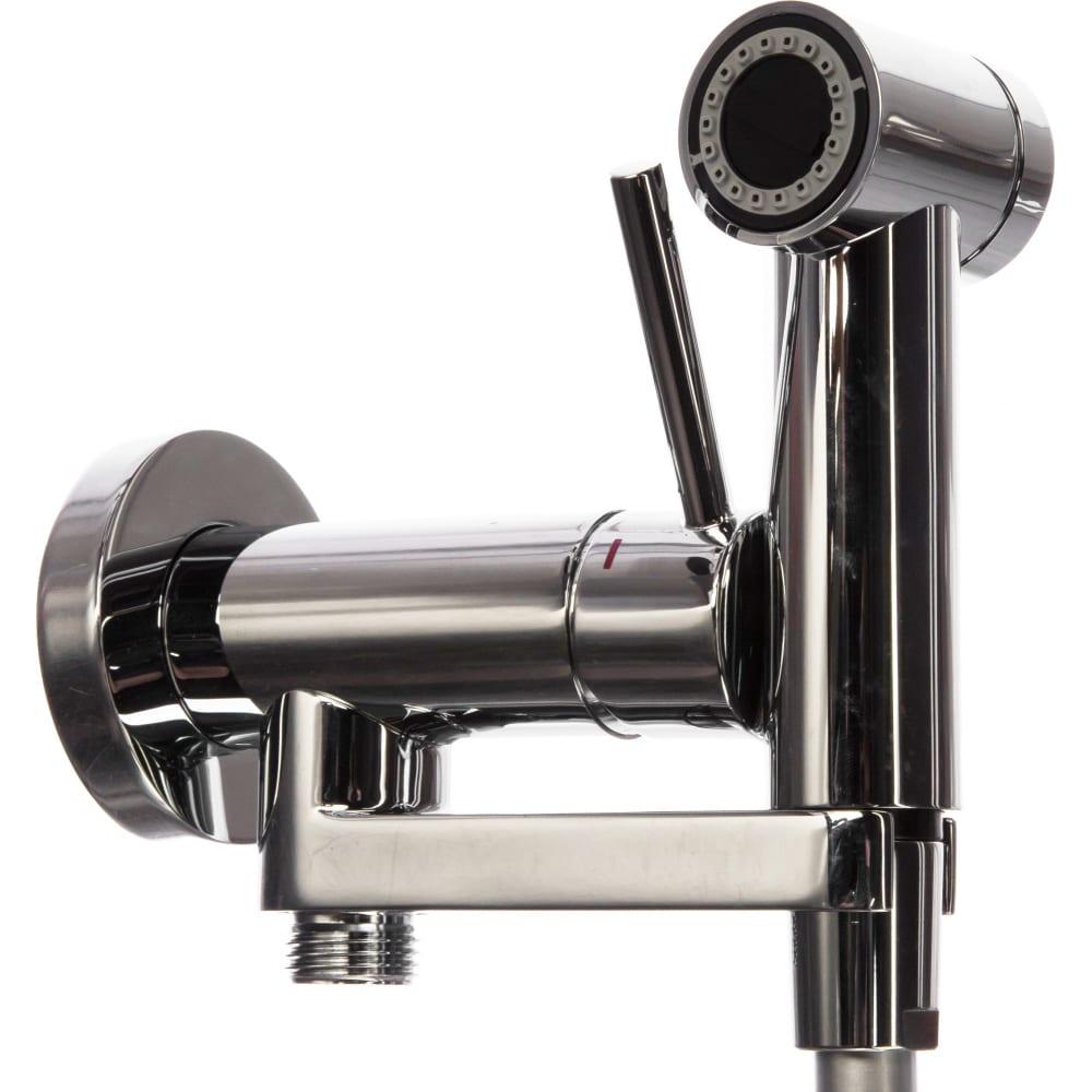 Купить Комплект для гигиенического душа nobili встроенный смеситель + гигиеническая лейка + шланг av00600cr