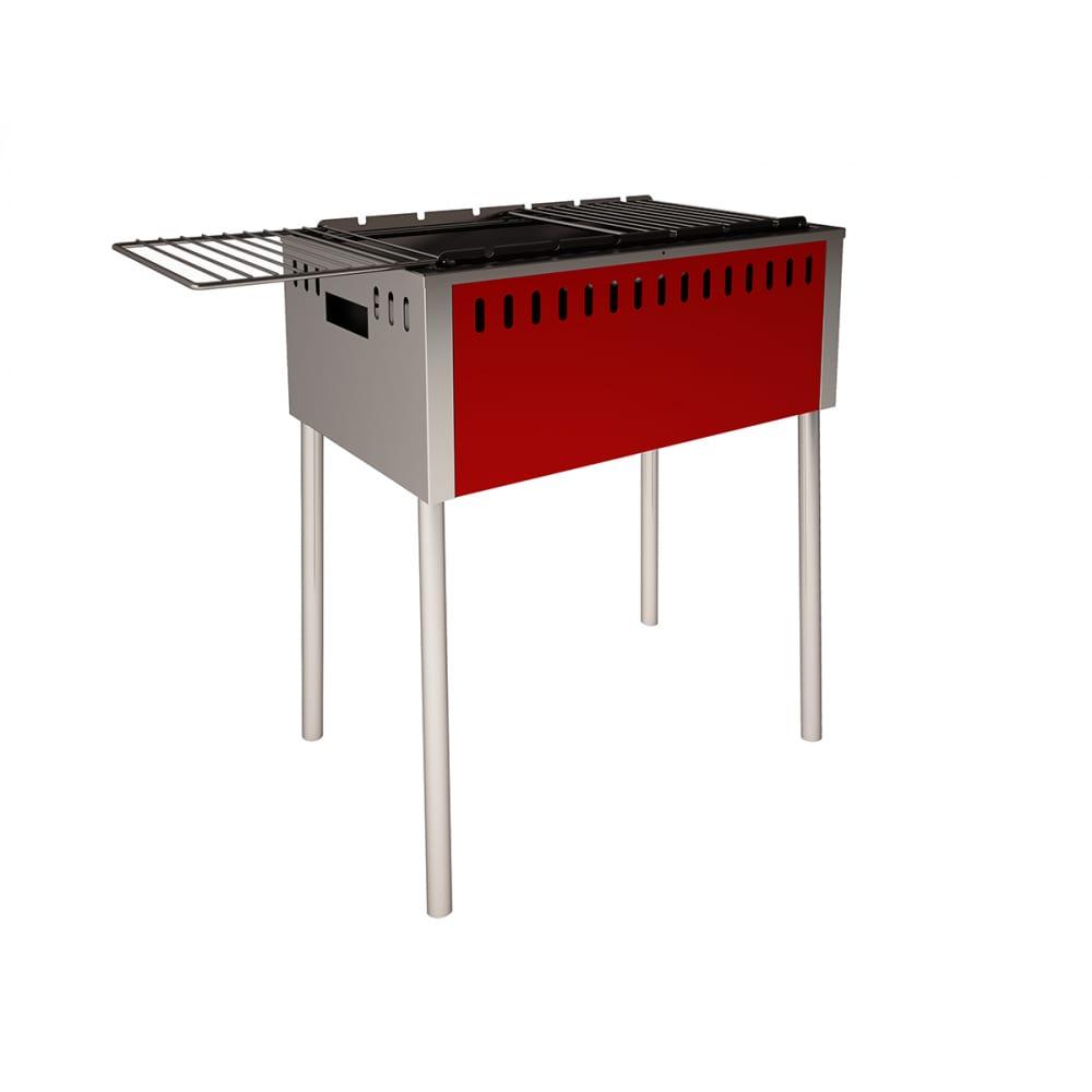 Мангал с откидными решетками grillux safer взр185