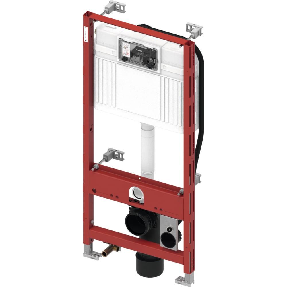 Купить Застенный модуль tece тесеprofil со смывным бачком uni, высота 1120 мм 9300044