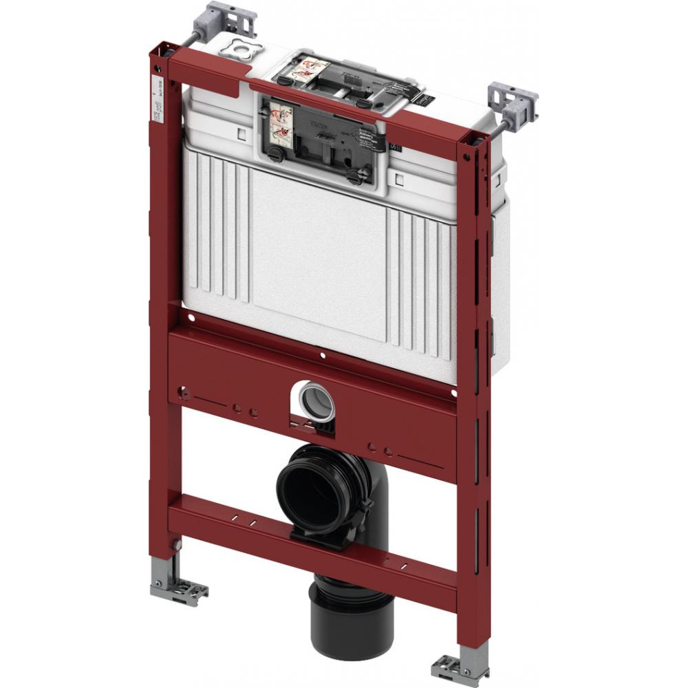 Купить Застенный модуль tece тесеprofil со смывным бачком uni, высота 820 мм 9300001