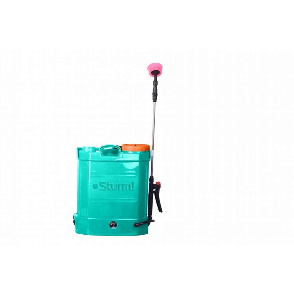 Купить Садовый ранцевый аккумуляторный опрыскиватель sturm 12л gs8212b