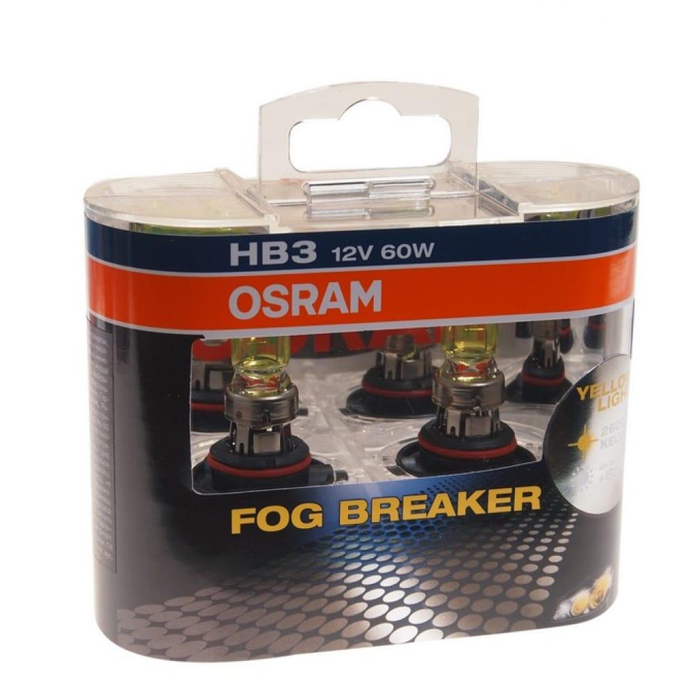 Автолампа osram hb3,9005 60 p20d fog 2600k,