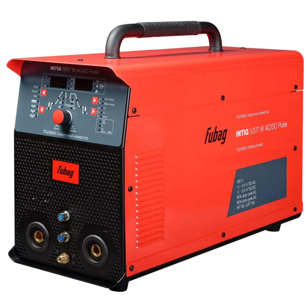 Сварочный инвертор fubag intig 500 t ac/ dc pulse 31457 + горелка fb tig 26 5p 4m 38459 31457.2