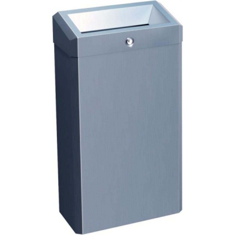 Купить Корзина для мусора с конусным отверстием merida металлическая stella classic 27 л kem101.l