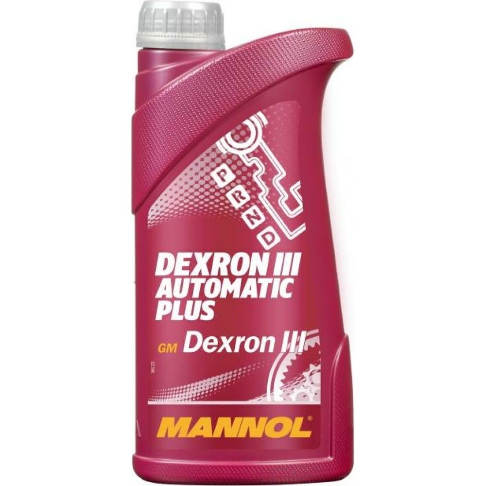 Купить Трансмиссионное масло atf plus dextron iii d mannol 1335