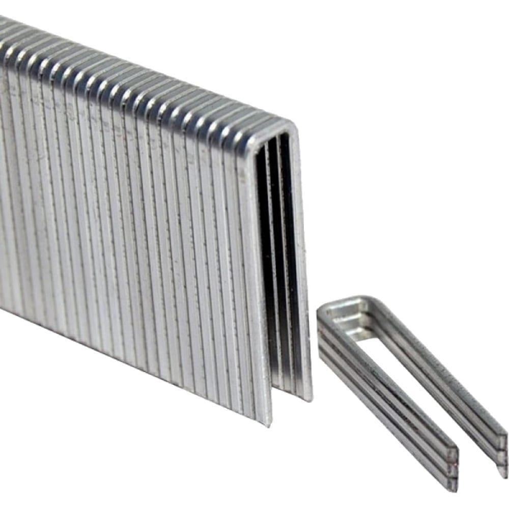Купить Скобы (5000 шт; 5.7х40 мм; 1.05х1.25 мм) для 0704.030100 elitech 195050