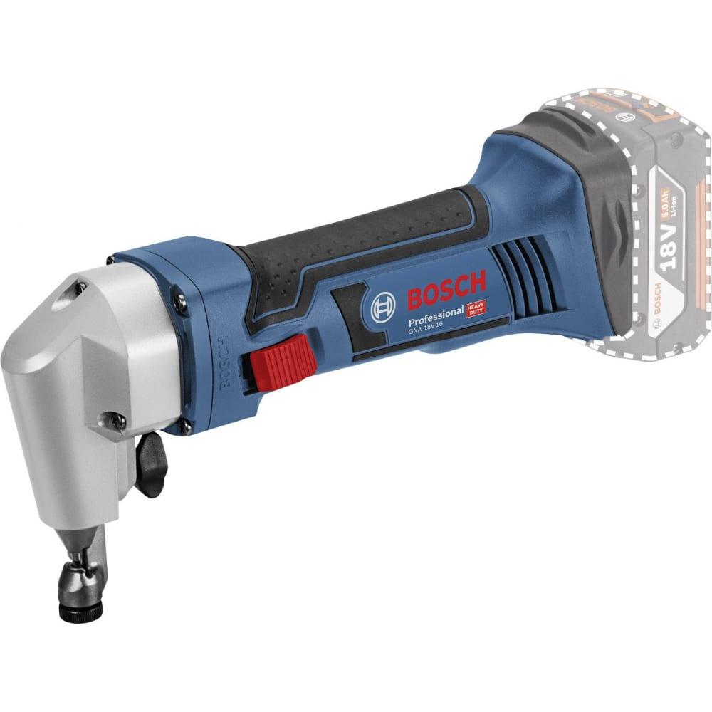 Вырубные аккумуляторные ножницы bosch gna 18v-16 0601529500