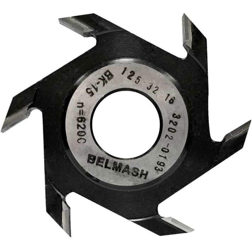 Купить Фреза пазовая дисковая по дереву (125х32х16 мм; z6) белмаш rf0032a