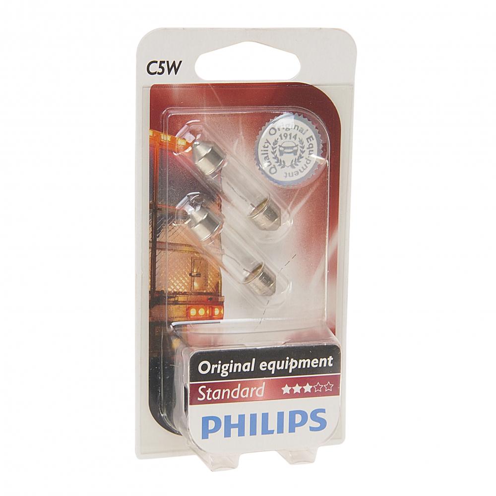 Автолампа philips c5w sv8.5.8, 35 мм