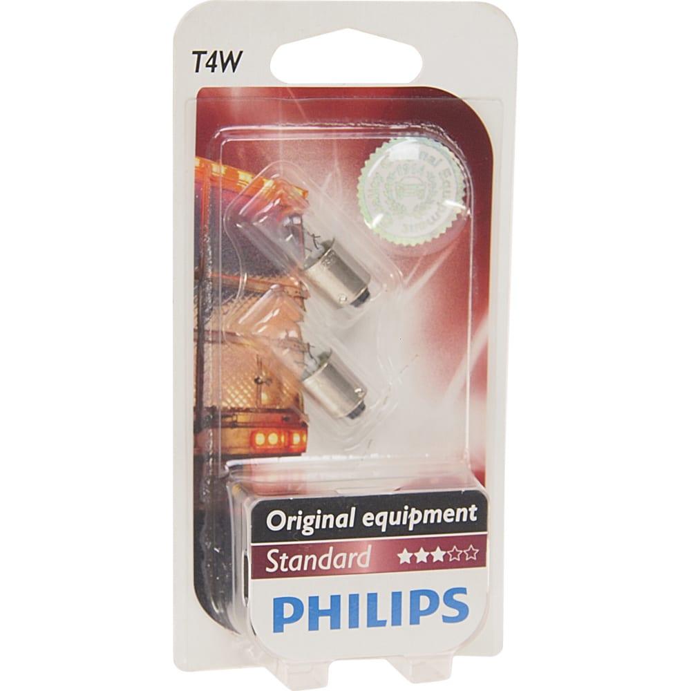 Купить Автолампа philips t4w ba9s 2 шт. 24v 1, 10 13929b2
