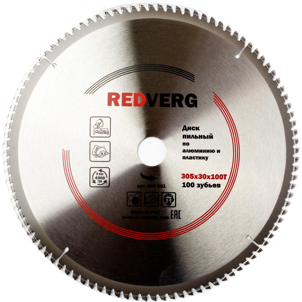 Диск пильный (305х30/25.4 мм; 100 зубьев) redverg