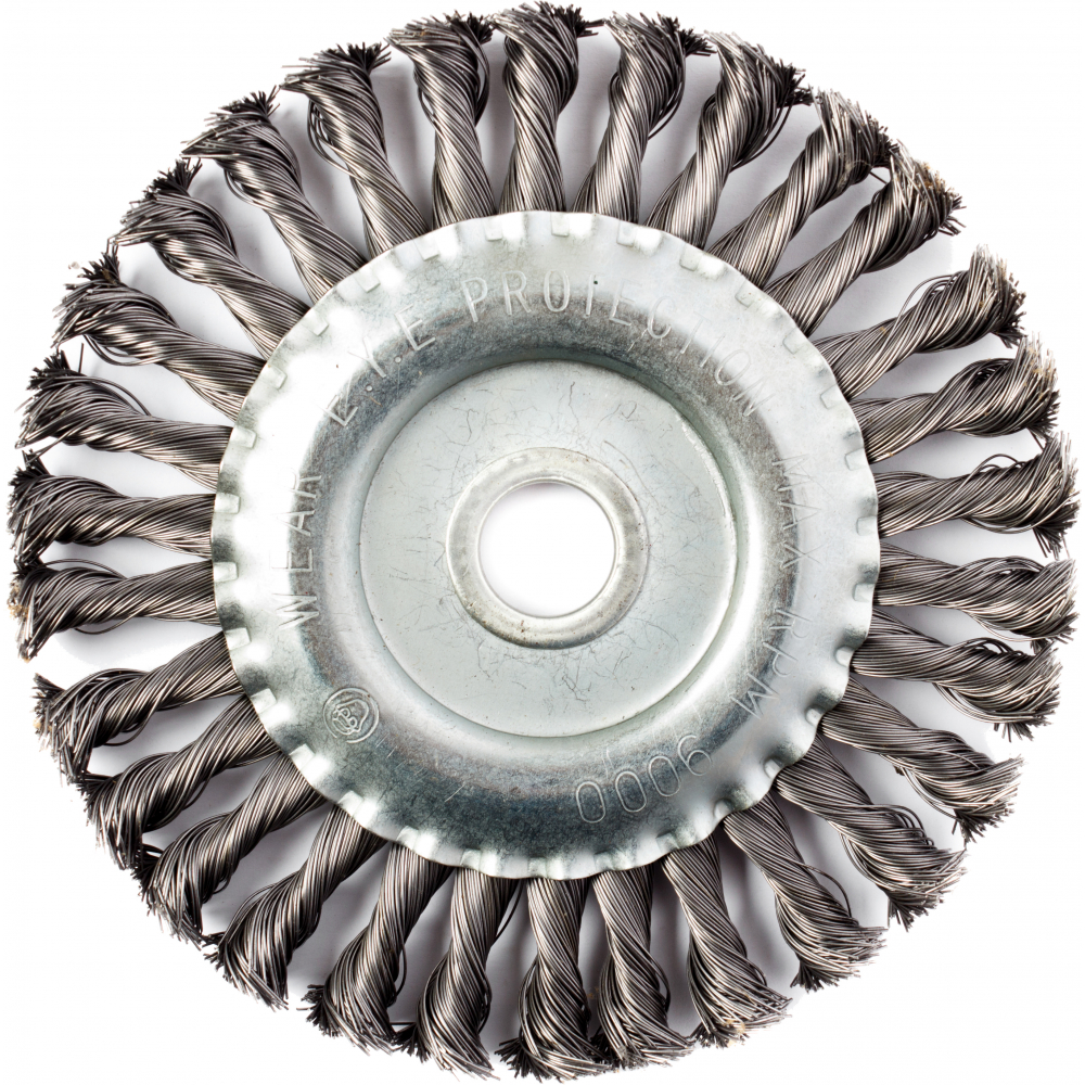 Кордщетка радиальная витая (178х22 мм) для мшу redverg 6623616