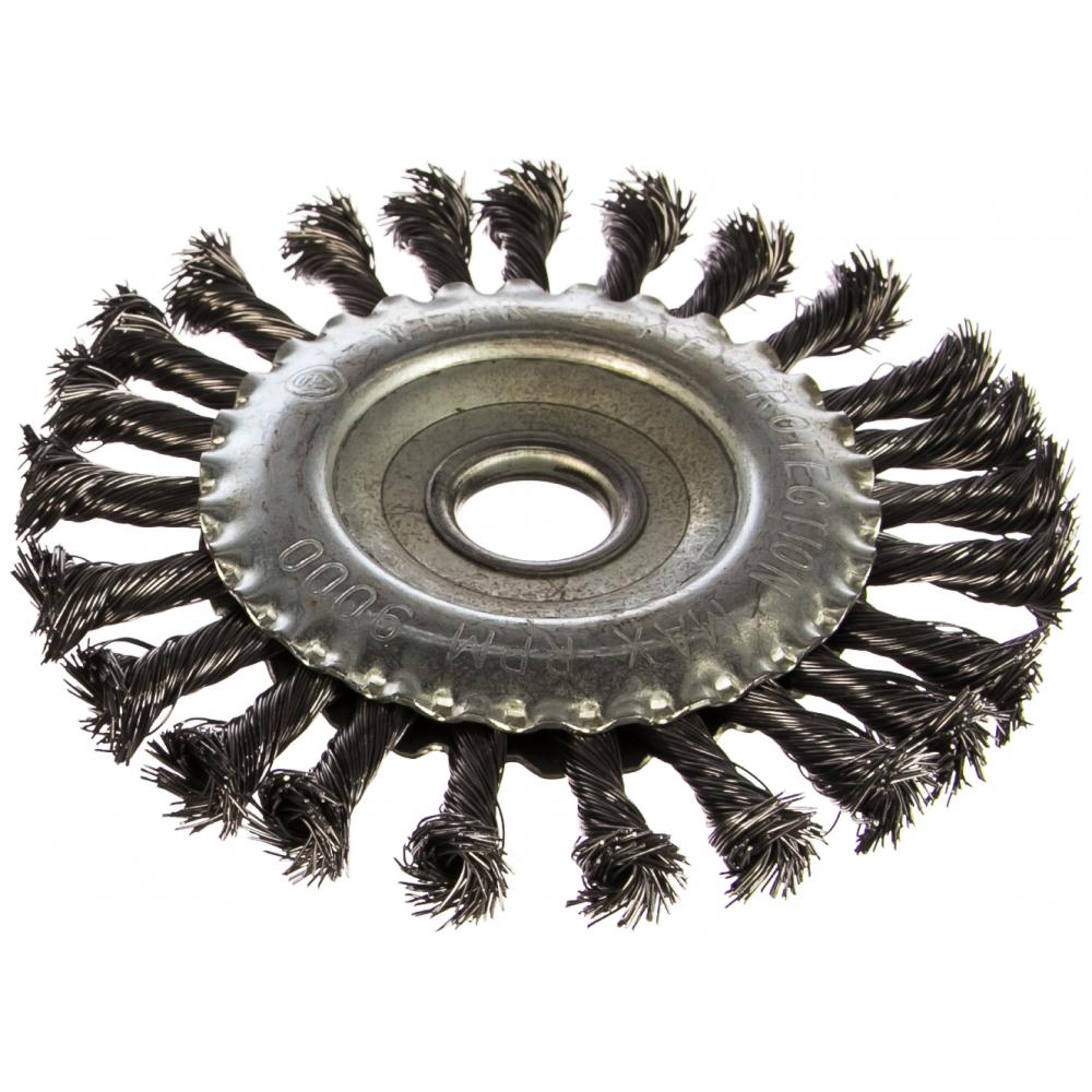 Кордщетка радиальная витая (150х22 мм) для мшу redverg 6623615
