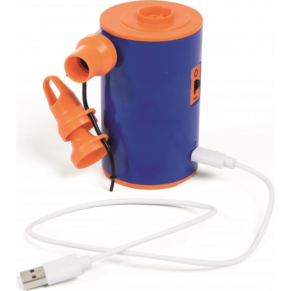 Картинка для Электрический портативный насос на аккумуляторах bestway, с зарядкой от usb, 3,7в 62101 bw
