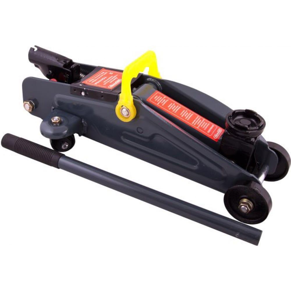 Купить Гидравлический подкатной домкрат skyway 2т h 125-300 мм в кейсе s01802007