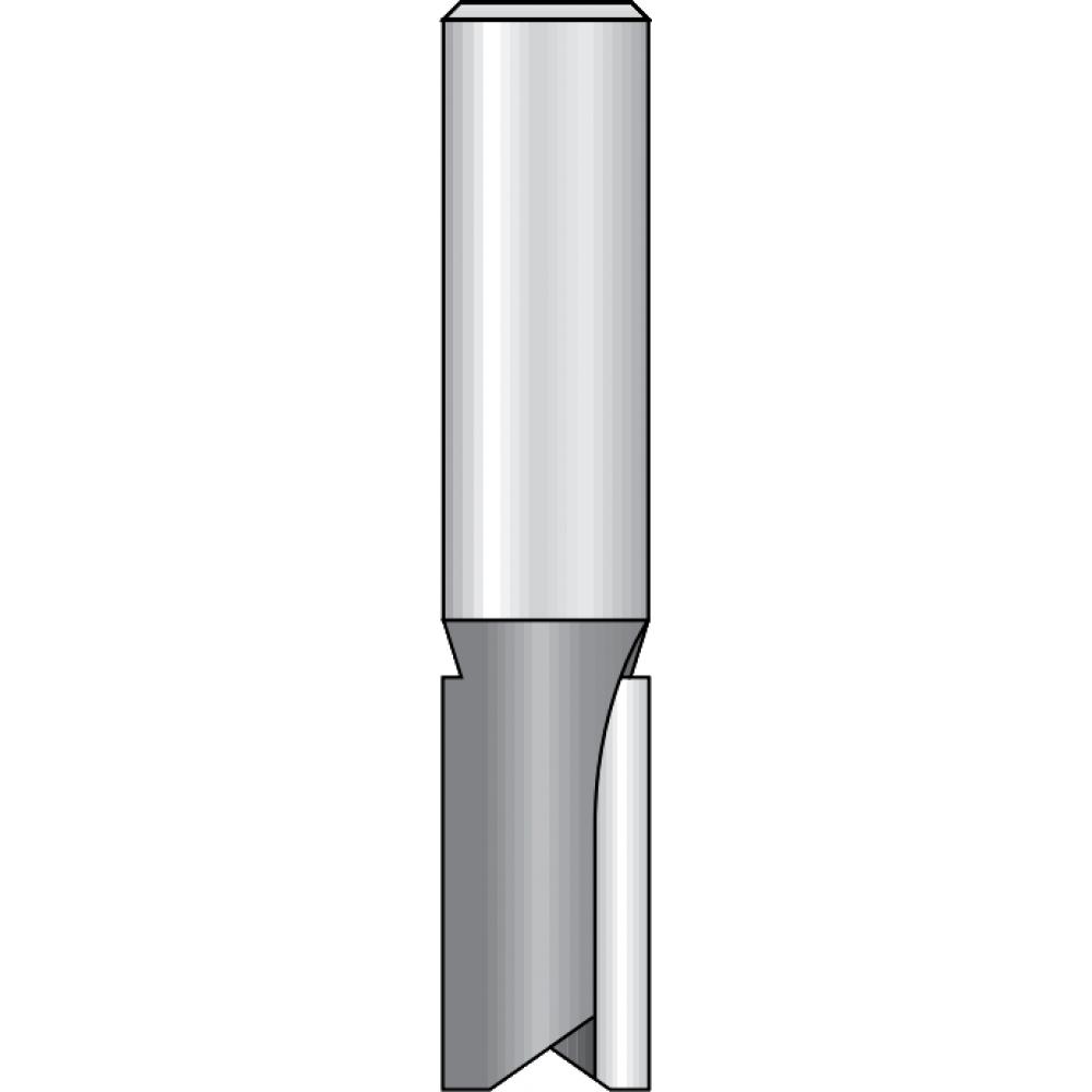 Купить Фреза пазовая (8x19х63 мм; z2; хвостовик 12 мм) dimar 1070229