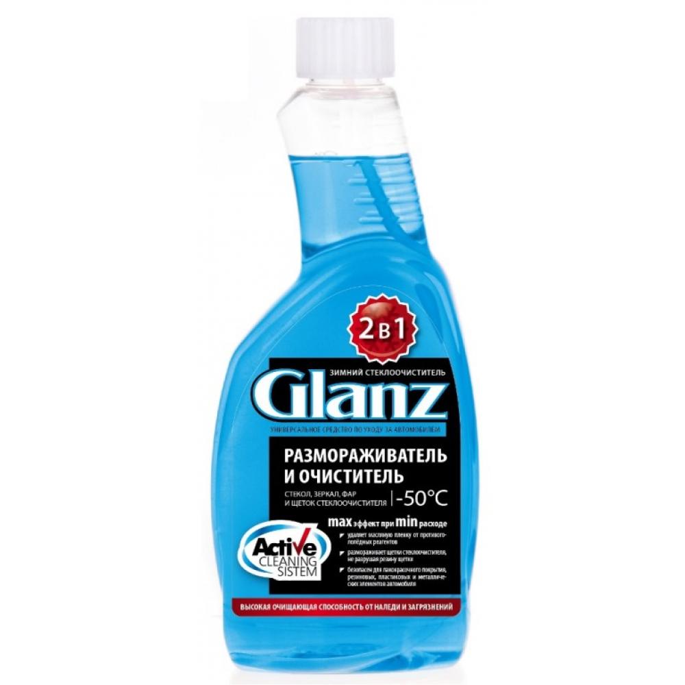 Размораживатель стекол 2в1 glanz  50с сменный