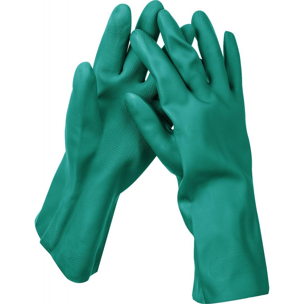 Купить Нитриловые перчатки зубр, размер m 11255-m_z01