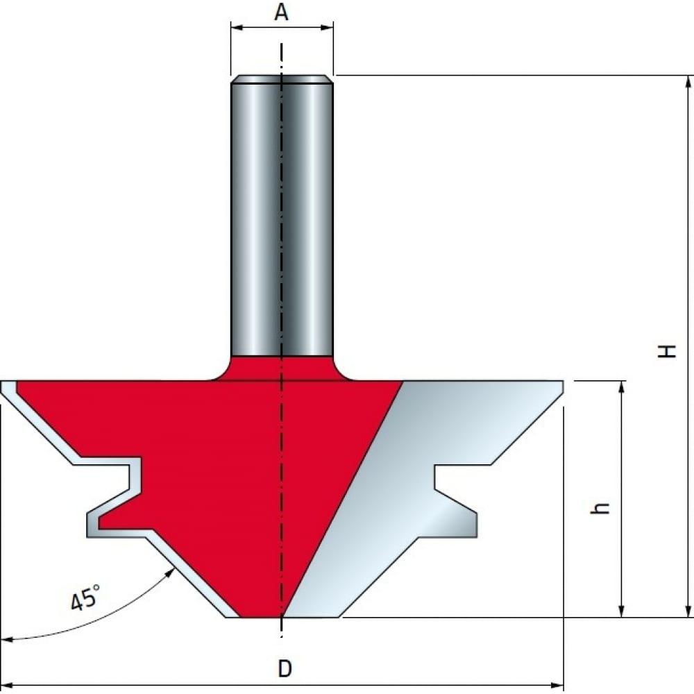Фреза для сращивания (70х29.5 мм; хвостовик