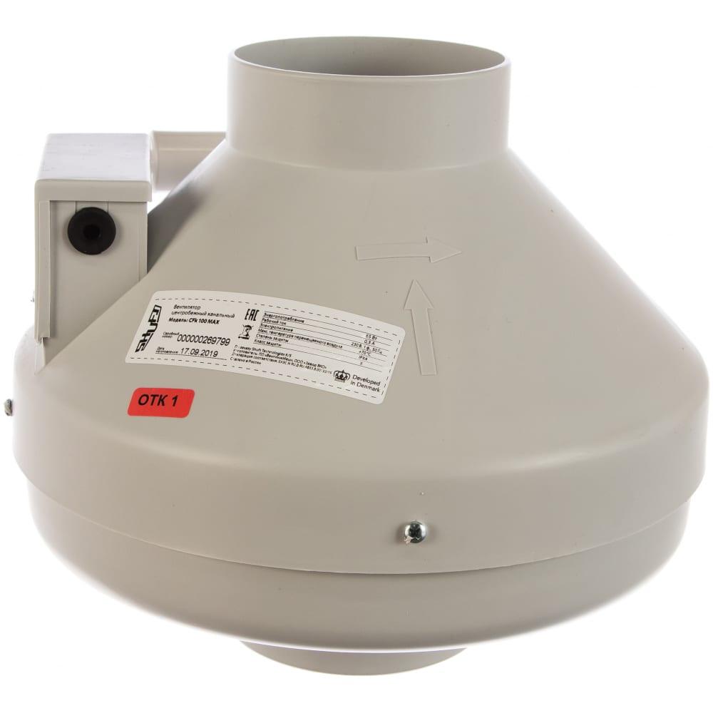 Канальный вентилятор shuft cfk 100 max  - купить со скидкой