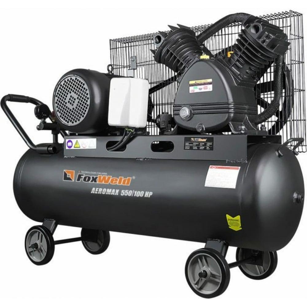 Купить Масляный ременной компрессор foxweld aeromax 550/100 hp 7069