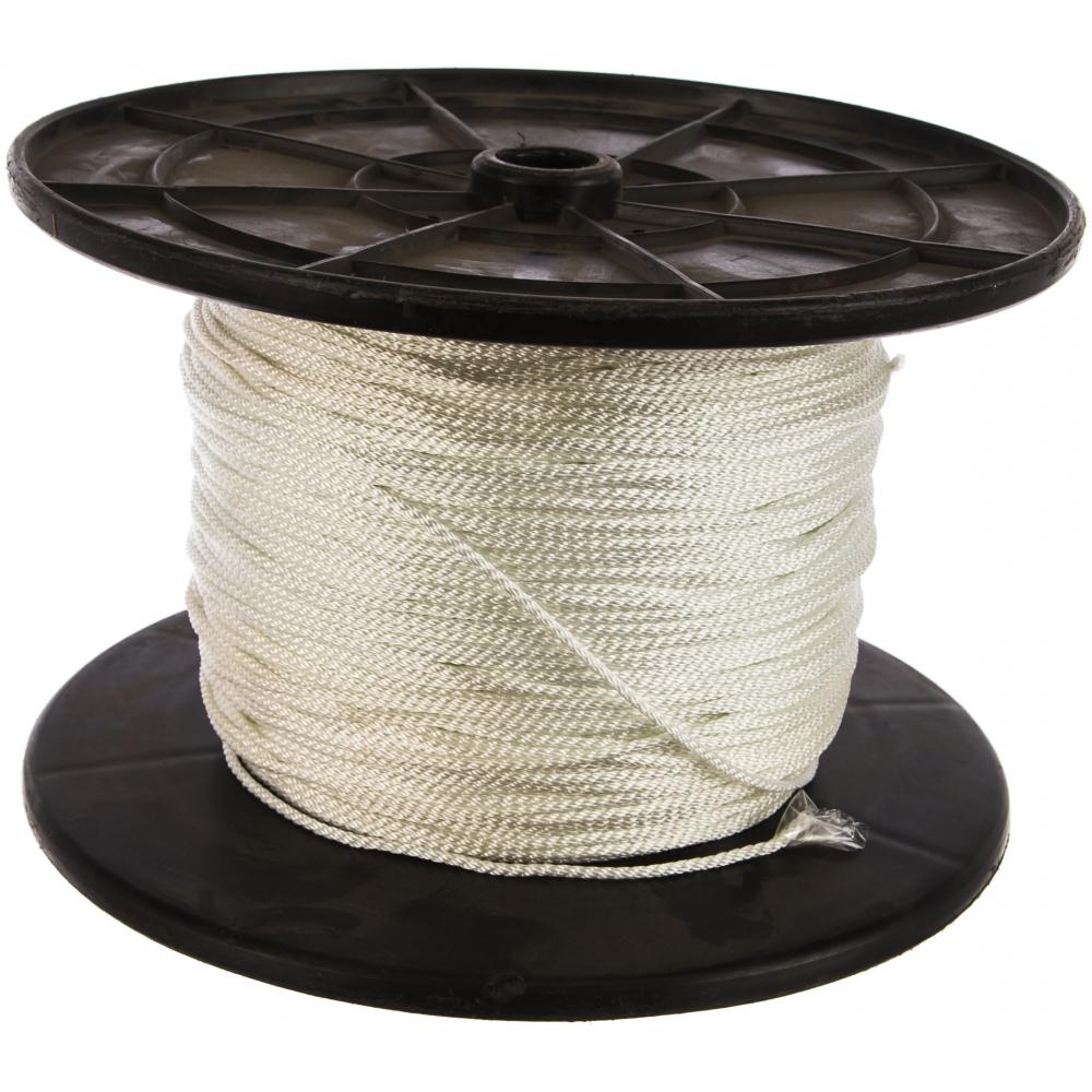 Купить Полиамидная веревка щит па кр. 3-прядная d. 4, 0 мм на кат. 200 мм 500 м 66850