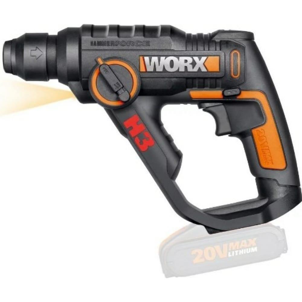 Аккумуляторный перфоратор worx wx390.9