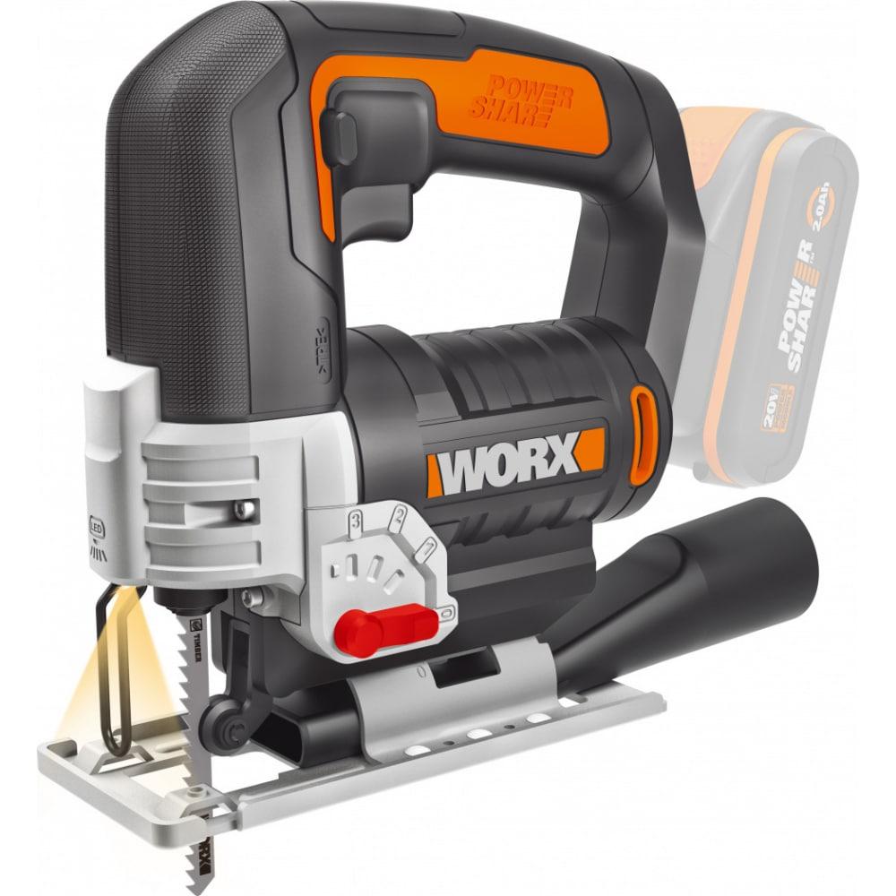 Аккумуляторный лобзик worx wx543.9