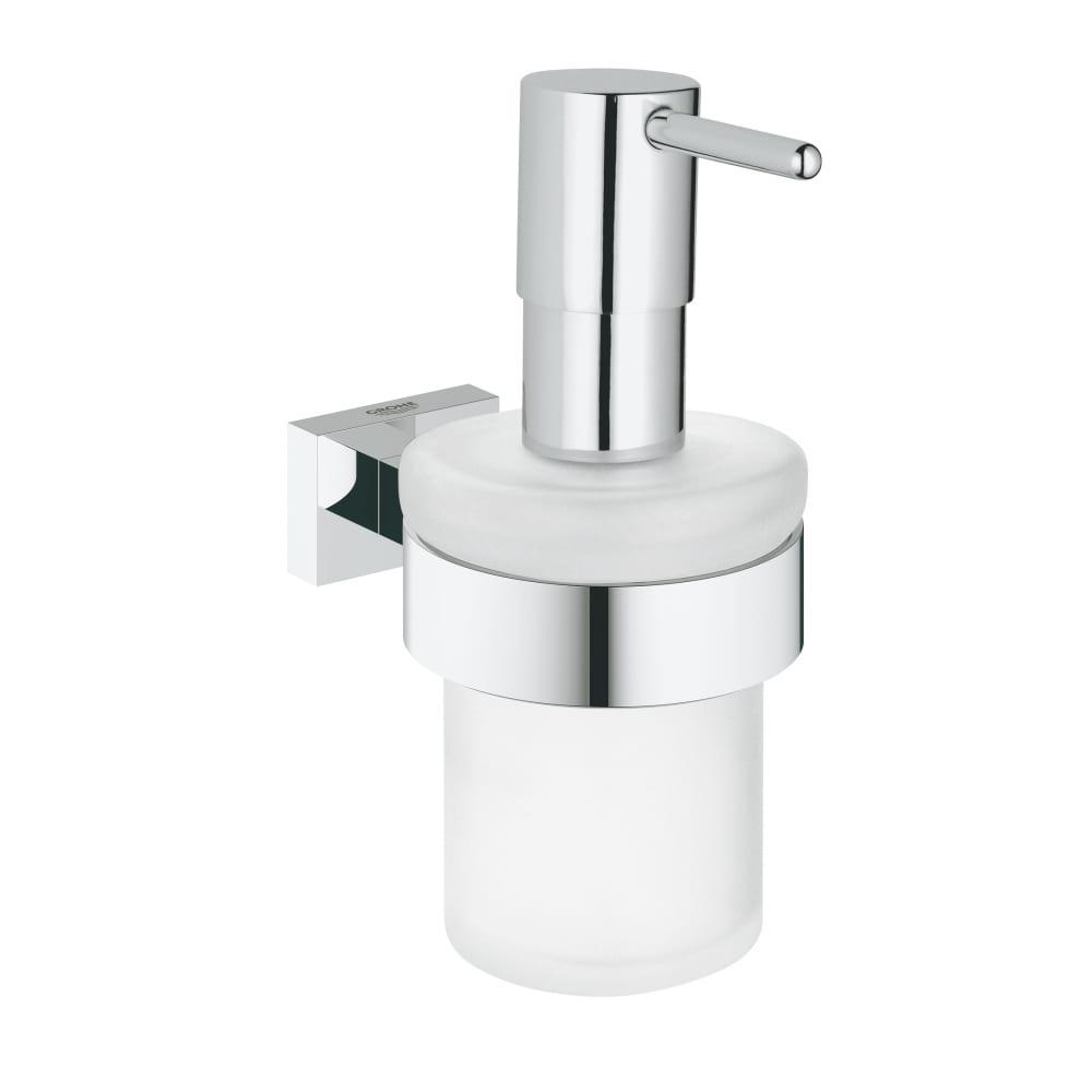 Купить Дозатор жидкого мыла с держателем grohe essentials cube 40756001