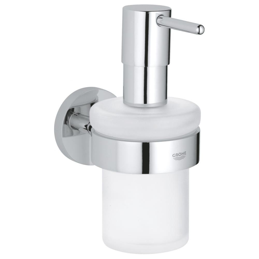 Купить Дозатор жидкого мыла с держателем grohe essentials 40448001