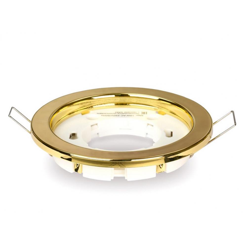 Купить Встраиваемый светильник smartbuy под лампу gx53/gold sb-svet-gold
