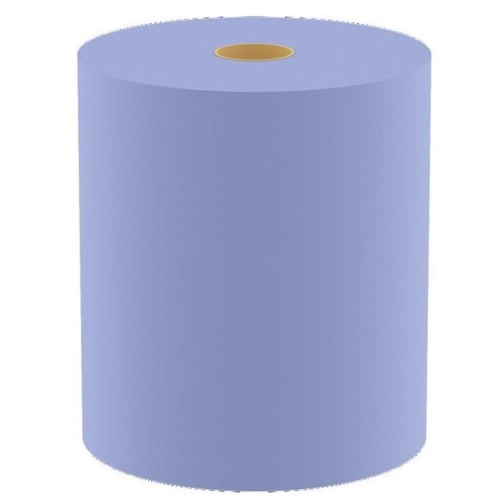 Двуслойные салфетки для очистки wolf голубые, 380х370