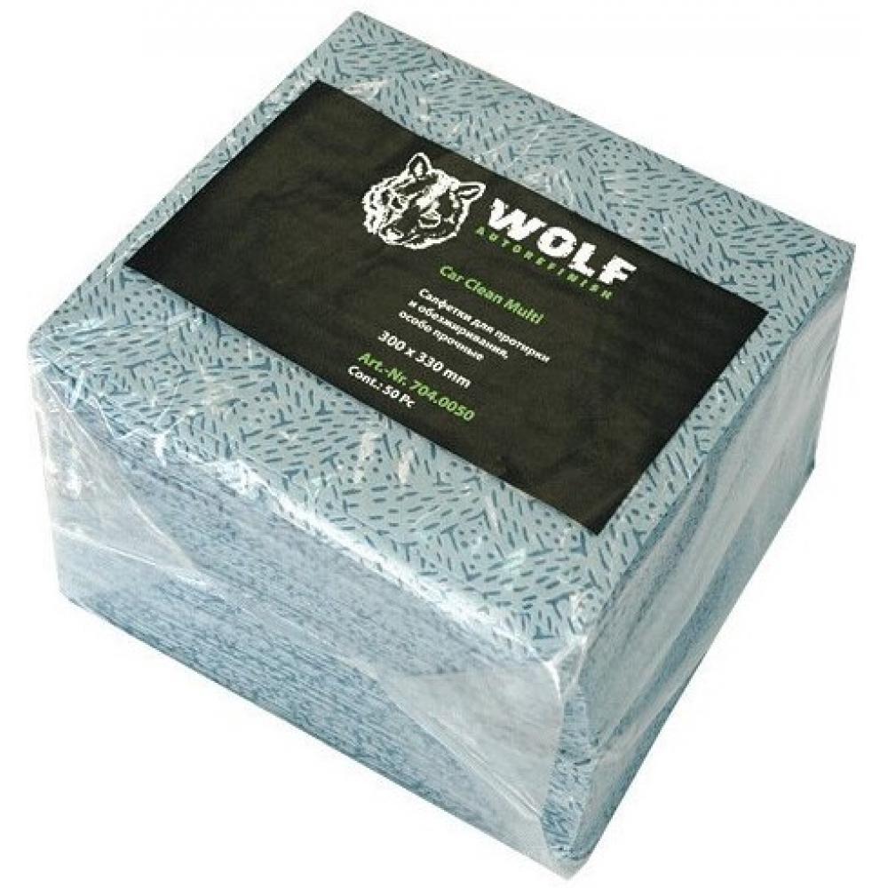 Салфетки для обезжиривания wolf multi 420х267