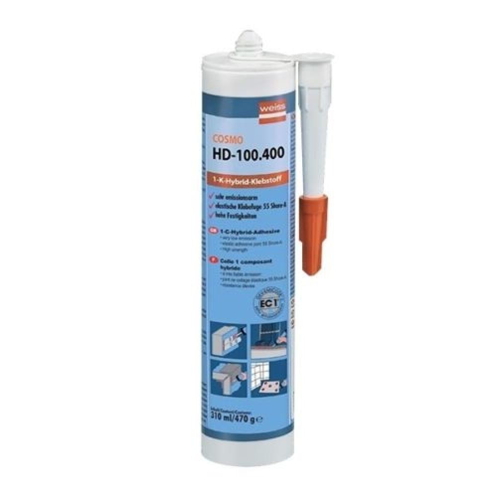 Купить Клей герметик cosmofen цвет белый, картридж 310 мл hd-100.400