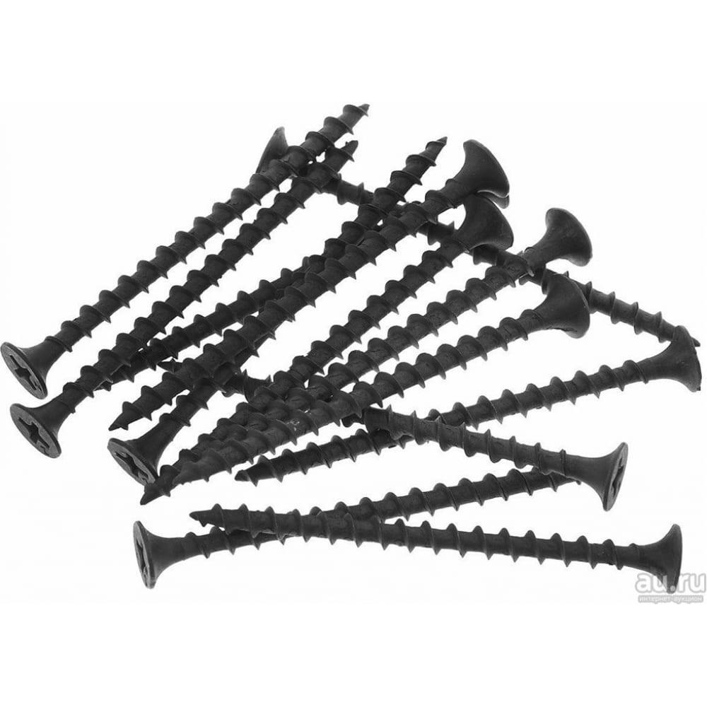 Купить Саморез качественный крепеж 4, 2х64 потай, крупная резьба, оксид 1 кг 1000815 кч