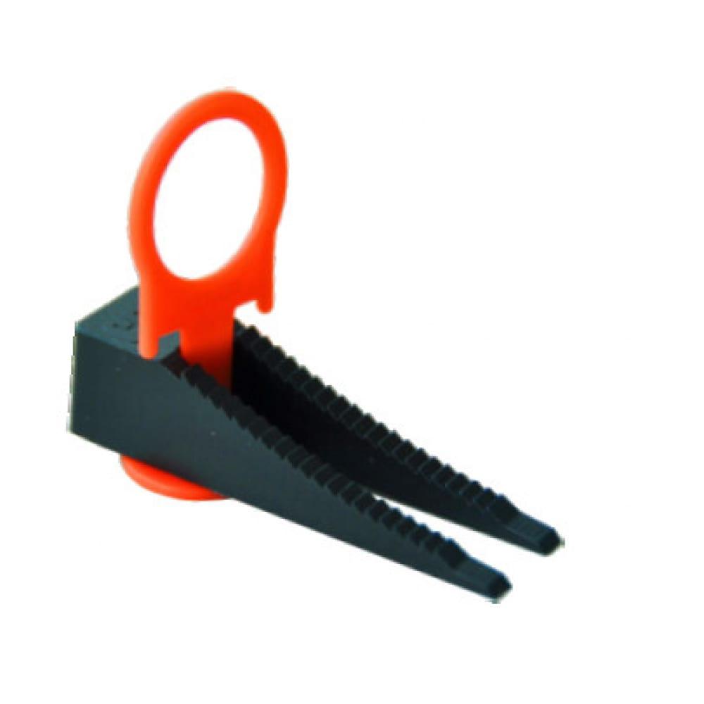 Купить Система выравнивания плитки зажим кольцо + клин (1.4 мм; 40 шт.) decor 449-4040