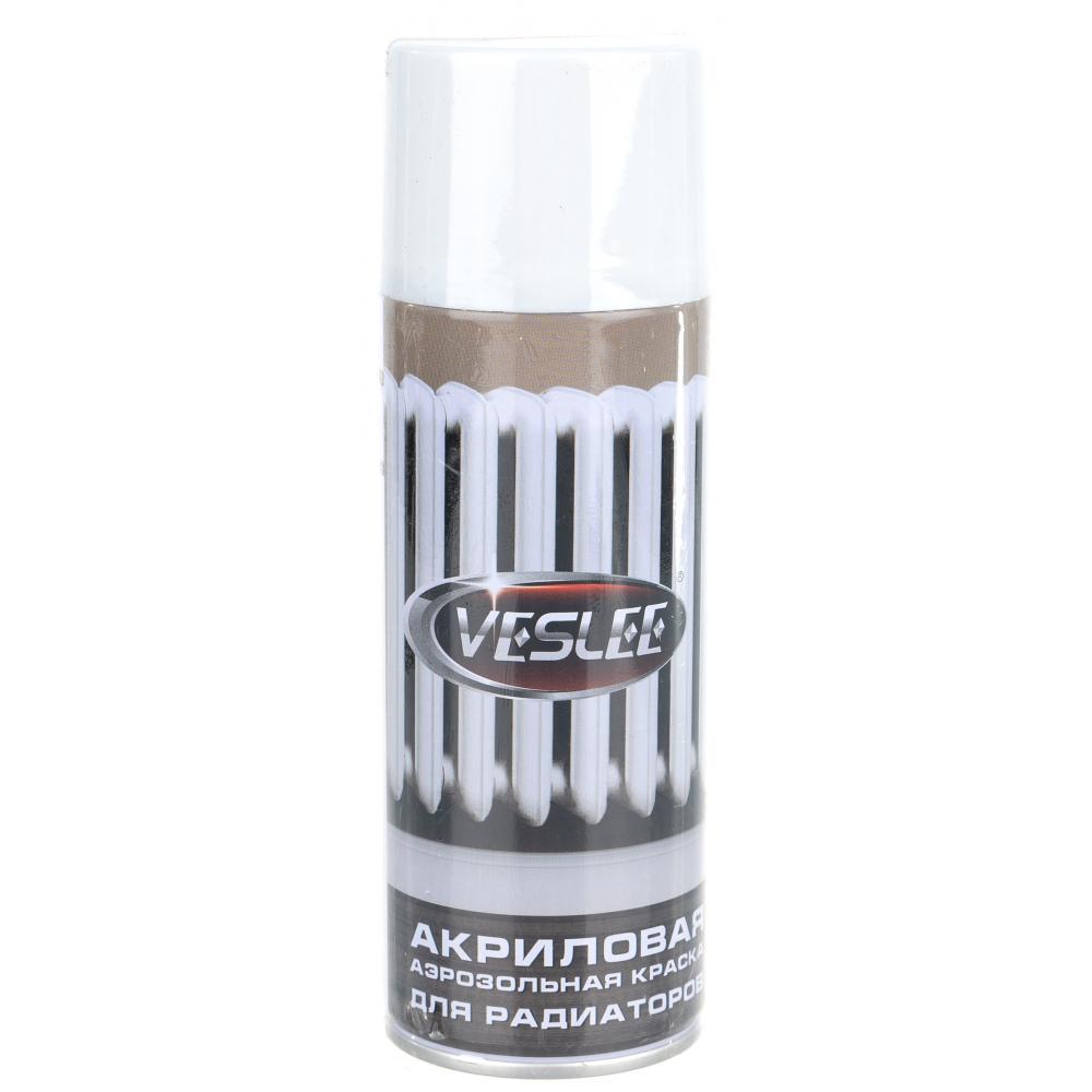 Термостойкая краска для радиаторов veslee белая vlr