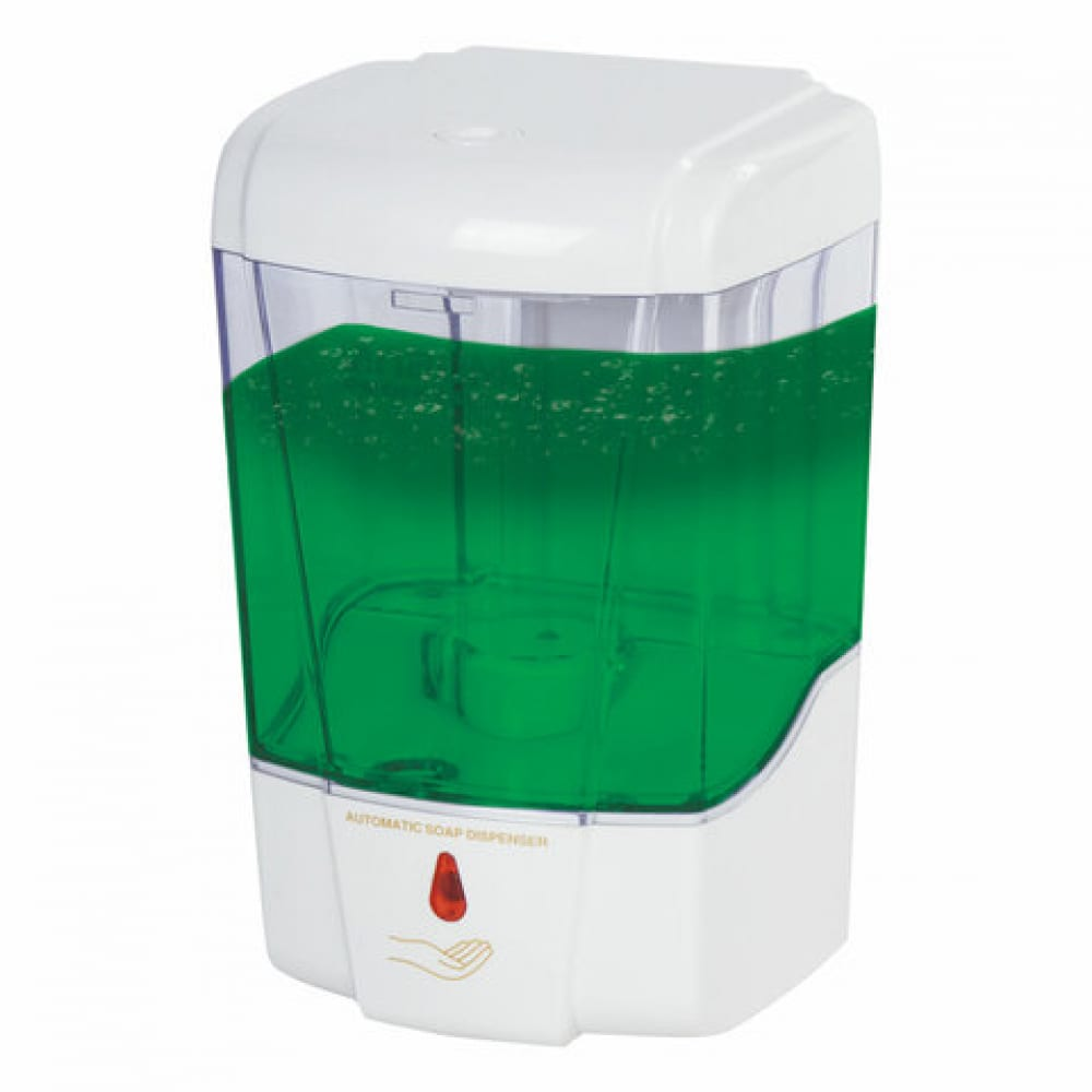 Сенсорный диспенсер для жидкого мыла лайма professional, наливной, прозрачный, 0, 6 л, 605391  - купить со скидкой