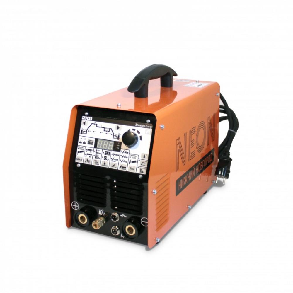 Сварочный аппарат для аргонодуговой сварки neon вд 201ад dc 220в, горелка 1566