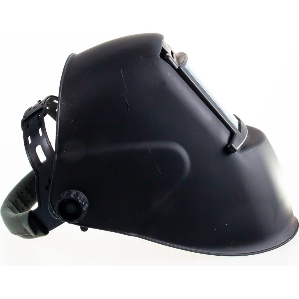 Маска сварщика foxweld гладиатор чёрная с откидным