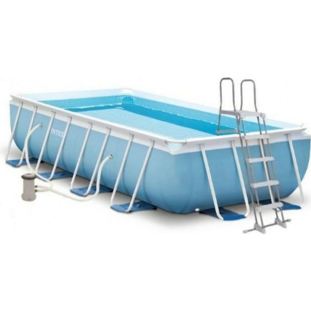 Купить Каркасный бассейн intex prism frame 400х200х100см 26788